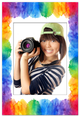 Magnetic Photo Frame Rainbow With Photo
