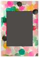 Magnetic Photo Frames | Colorful Dots
