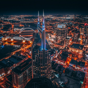 Photograph Magnets | Batman Over Nashville