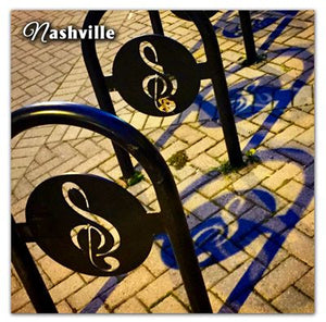 Nashville Photo Magnet | Musical Note