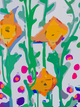 Nashville Art | Abstract Daffodils