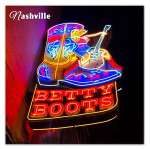 Nashville Photo Magnet | Betty Boots