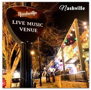 Nashville Photo Magnets |  Demonbreun Street