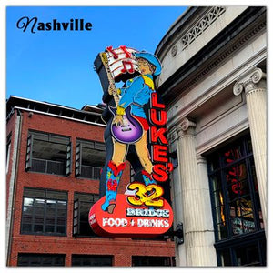 Nashville Fridge Photo Magnet | Lukes 32