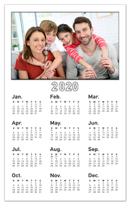 Personalized Calendar Photo Magnets With Photo