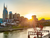 Nashville Magnets | Sun Rising Over Downtown