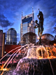 Picture Magnet | Fountain Glow