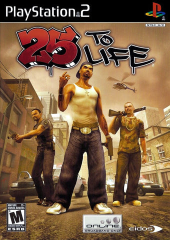 PlayStation 2 25 To Life (Game Disc Only)