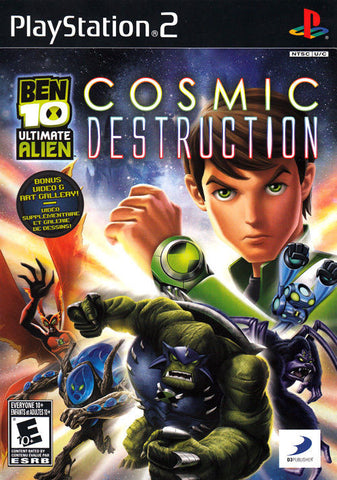 PlayStation 2 Ben 10 Ultimate Alien Cosmic Destruction (Game Disc Only)