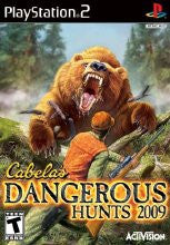 PlayStation 2 Cabelas Dangerous Hunts 2009 (Game Disc Only) [T]