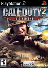 PlayStation 2 Call of Duty 2 Big Red One (Game Disc Only) [T]