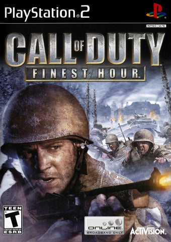 PlayStation 2 Call of Duty Finest Hour (Game Disc Only) [T]