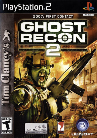 PlayStation 2 Ghost Recon 2 (Game Disc Only) [T]