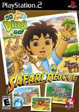 PlayStation 2 Go Diego Go Safari Rescue (Game Disc Only)
