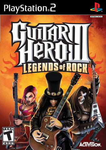 PlayStation 2 Guitar Hero III Legends of Rock (Game Disc Only) [T]