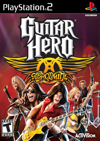 PlayStation 2 Guitar Hero Aerosmith (Game Disc Only) [T]