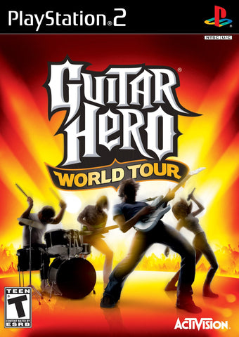 PlayStation 2 Guitar Hero World Tour (Game Disc Only) [T]