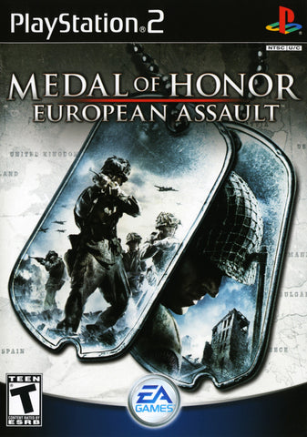 PlayStation 2 Medal of Honor European Assault Used [T]