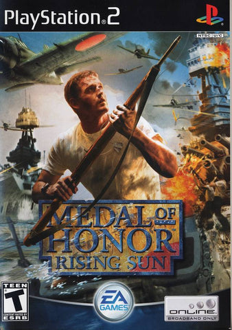 PlayStation 2 Medal of Honor Rising Sun Used [T]
