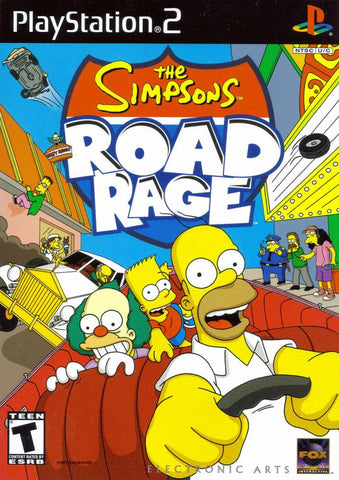 PlayStation 2 Simpsons Road Rage (Game Disc Only) [T]
