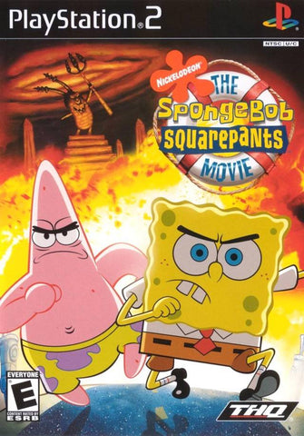 PlayStation 2 Sponge Bob Squarepants Movie (Game Disc Only)