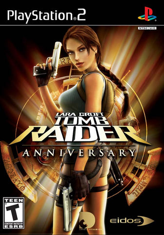 PlayStation 2 Tomb Raider Anniversary Edition (Game Disc Only) [T]