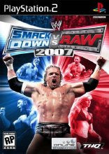 PlayStation 2 WWE Smackdown vs Raw 2007 Used [T]