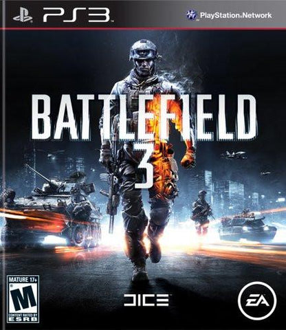 PlayStation 3 Battlefield 3 (Game Disc Only)