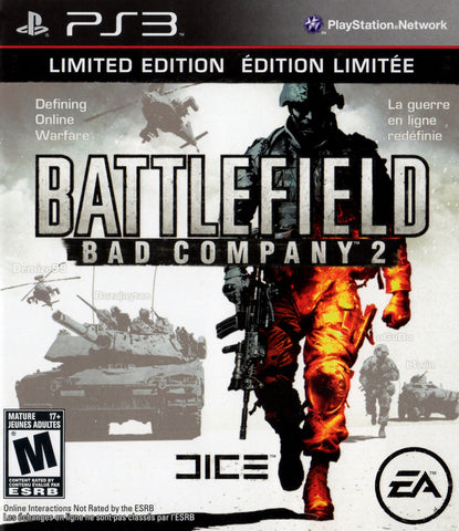 PlayStation 3 Battlefield Bad Company 2 (Game Disc Only) [T]