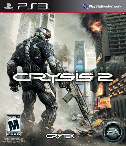 PlayStation 3 Crysis 2 (Game Disc Only)