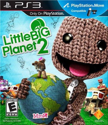 PlayStation 3 Little Big Planet 2 (MC) (Game Disc Only) [E]