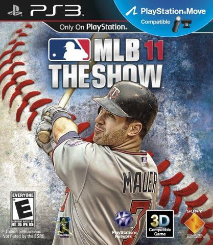PlayStation 3 MLB 11 The Show (Game Disc Only) [E]