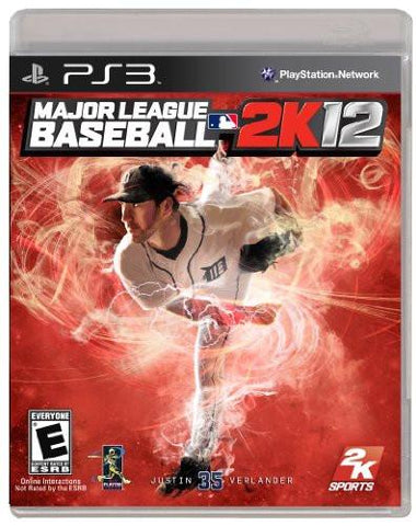 PlayStation 3 Major League Baseball 2K12 (Game Disc Only) [E]