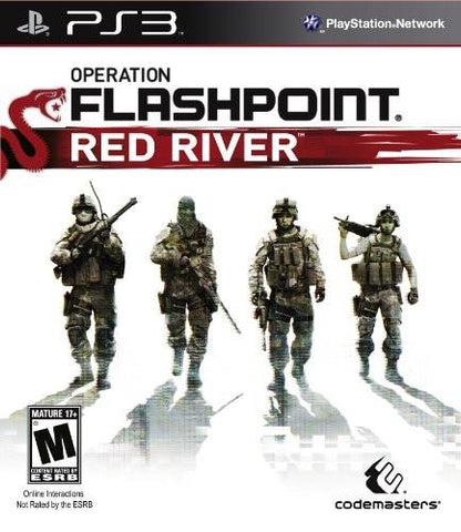 PlayStation 3 Operation Flashpoint Red River (Game Disc Only)