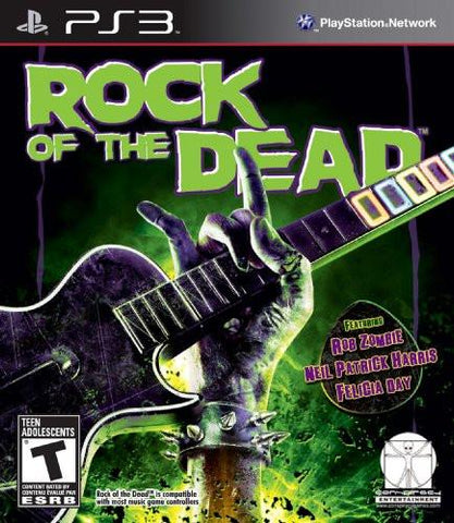 PlayStation 3 Rock of the Dead (Game Disc Only)