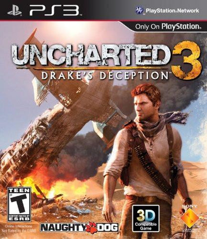 PlayStation 3 Uncharted 3 Drakes Deception (Game Disc Only)