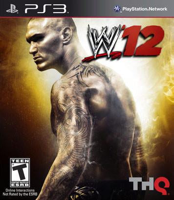 PlayStation 3 WWE 12 (Game Disc Only)
