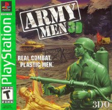 PlayStation 1 Army Men 3D (Game Disc Only) [T]