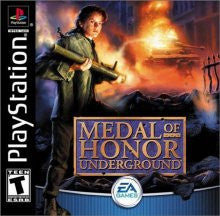 PlayStation 1 Medal of Honor Underground (Game Disc Only) [T]