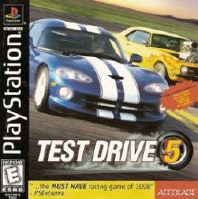 PlayStation 1 Test Drive 5 (Game Disc Only) [E]