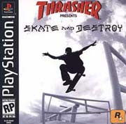 PlayStation 1 Thrasher Skate And Destroy (Game Disc Only) [T]