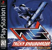 PlayStation 1 Trickin Snowboarder Used [E]