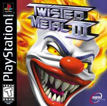 PlayStation 1 Twisted Metal 3 (Game Disc Only) [T]