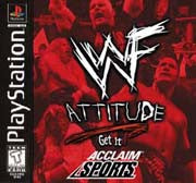 PlayStation 1 WWF Attitude (Game Disc Only)