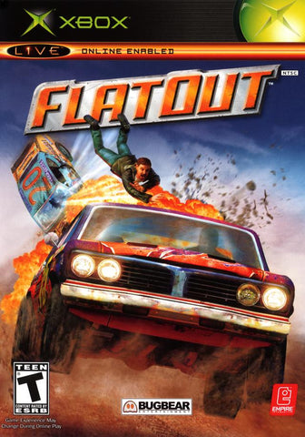 Xbox Flat Out (Game Disc Only) [T]