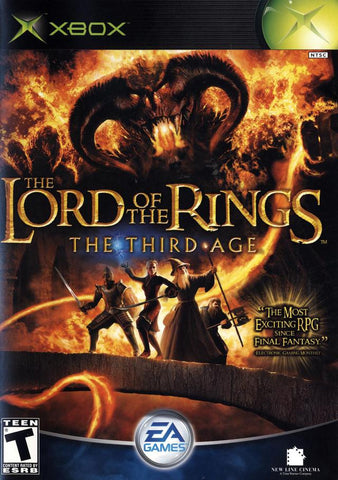 Xbox Lord of the Rings Third Age (Game Disc Only) [T]