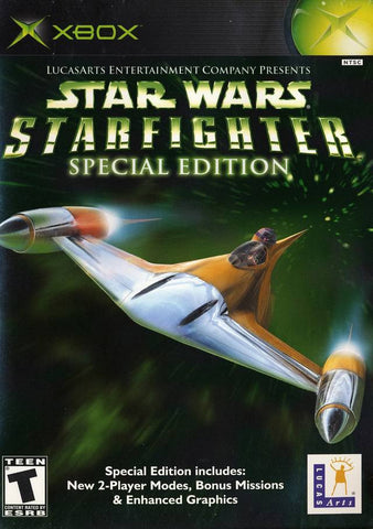 Xbox Star Wars Starfighter Special Edition (Game Disc Only) [T]