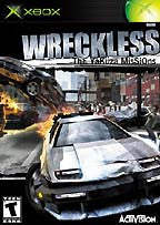 Xbox Wreckless (Game Disc Only)