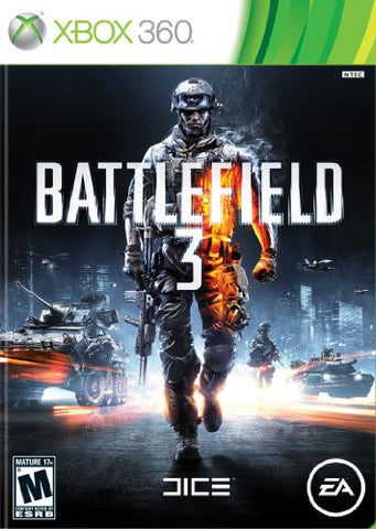 Xbox 360 Battlefield 3 (Game Disc Only)