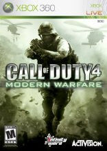 Xbox 360 Call of Duty 4 Modern Warfare (Game Disc Only)  [M]